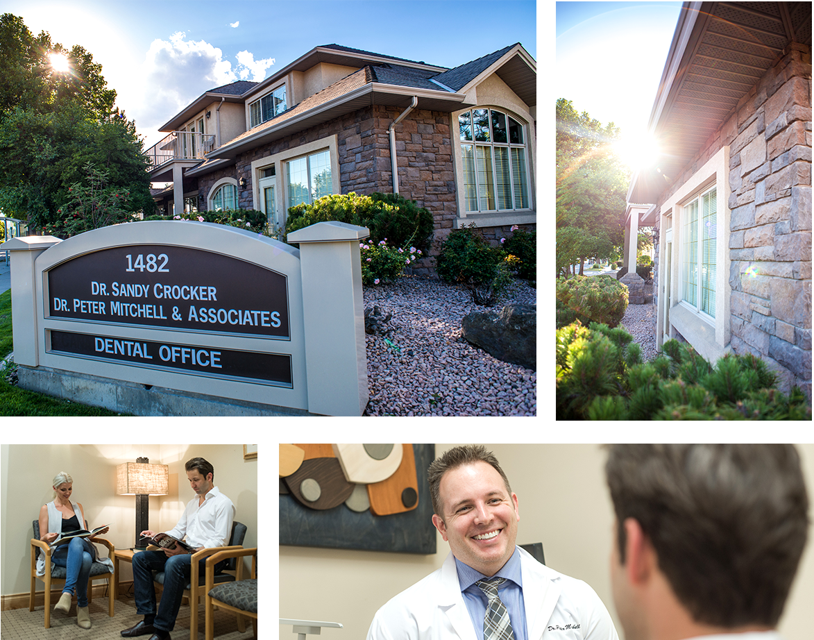 Dentists Kelowna | Dr. Sandy Crocker, Dr. Peter Mitchell & Associates